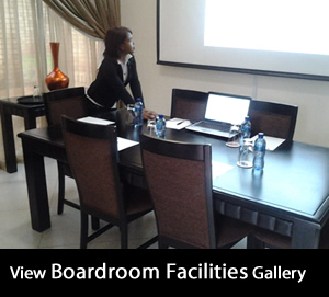 Boardroom gallery at Montana Guesthouse